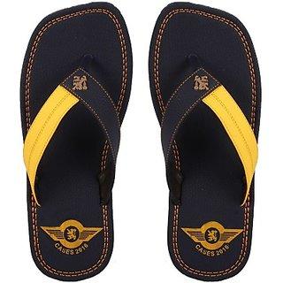 Stylos Mens Blue Slippers
