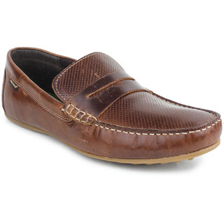 buy red tape mens brown casual slip on shoes rts9452
