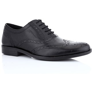 Red Tape Mens Black Formal Lace-Up Shoes (RTS8761A)