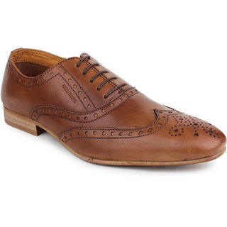buy red tape mens tan formal laceup shoes rts9353