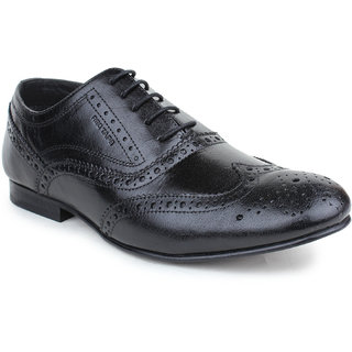 Buy Red Tape Mens Black Formal Lace-Up