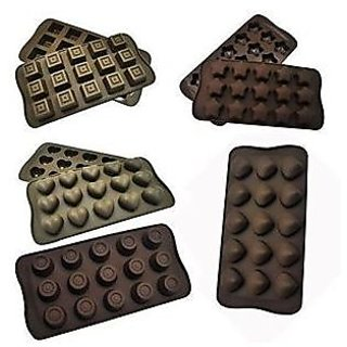 Silicone Chocolate Mold / Ice Cube Mould (any 1 pc)