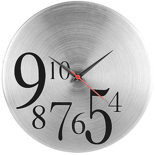 4 to10 Round Steel Wall Clock