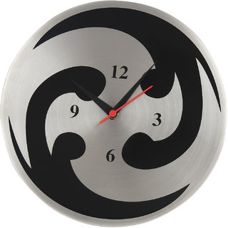 Daily Deals Online Steel Analog 25 cm Dia Wall Clock