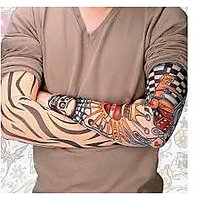Arm Tattoo Sleeves For Style / Biking, Sun Protection