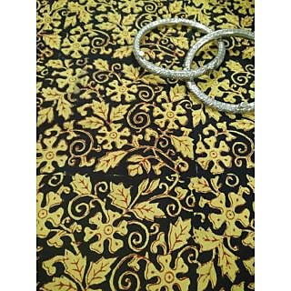 KalamKari Cotton Kurta Fabric Per Meter