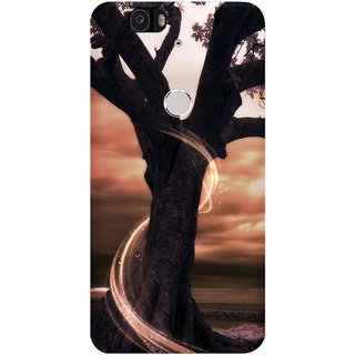 WOW Printed Back Cover Case for Huawei Nexus 6P