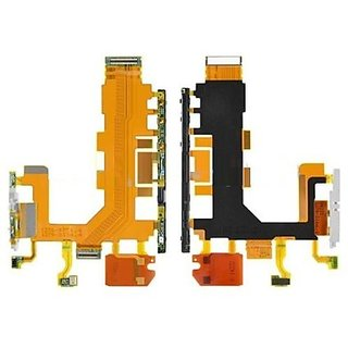 Power On Off Volume Button Key Flex Cable for Sony Xperia Z2 L36h