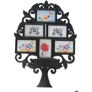 Empreus Black 6 Family Tree Photo Collage Frame