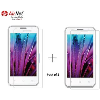 Airnet  Scratch and Dust Resistant Screen Guard for Karbonn A 10
