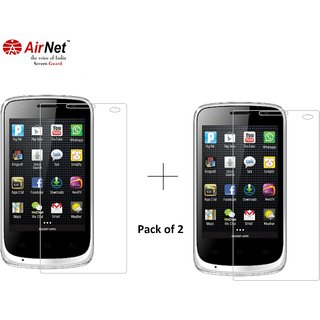 Airnet  Scratch and Dust Resistant Screen Guard for Karbonn A1 plus