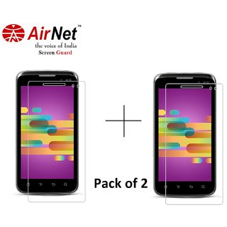 Airnet  Scratch and Dust Resistant Screen Guard for Karbonn A 21