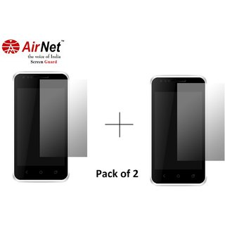 Airnet  Scratch and Dust Resistant Screen Guard for Karbonn A 27+