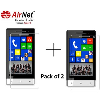 Airnet  Scratch and Dust Resistant Screen Guard for Karbonn A 6