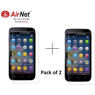 Airnet  Scratch and Dust Resistant Screen Guard for Karbonn S 5 Tianium