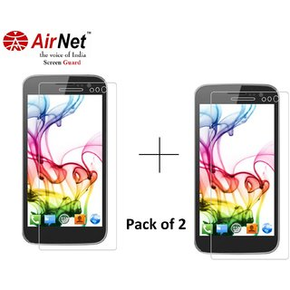 Airnet  Scratch and Dust Resistant Screen Guard for Micromax A 114