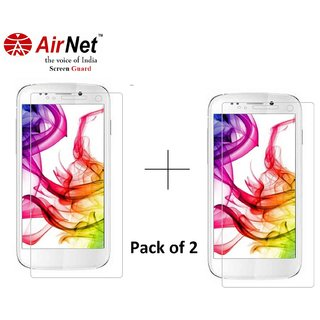 Airnet  Scratch and Dust Resistant Screen Guard for Micromax A 210