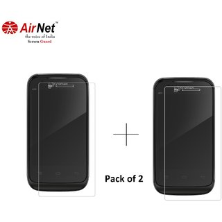 Airnet  Scratch and Dust Resistant Screen Guard for Micromax Bolt A 28