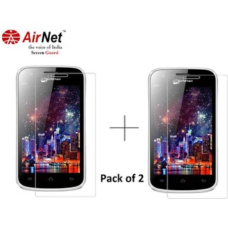 Airnet  Scratch and Dust Resistant Screen Guard for Micromax A 34