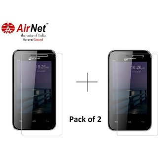Airnet  Scratch and Dust Resistant Screen Guard for Micromax Bolt A59