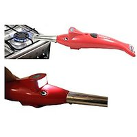 Dolphin Shape Electronic Electric Gas Lighter + Led Torch 2 in 1