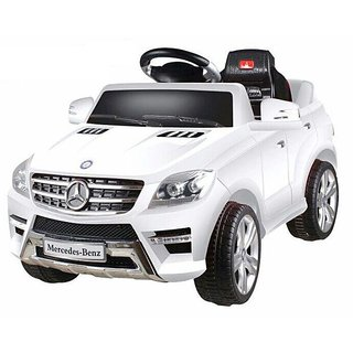 BHUVID kids battery operated BENZ CLASS car with Remote control  MP3