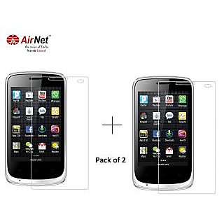 Airnet  Scratch and Dust Resistant Screen Guard for Karbonn A 9+Karbonn A 12