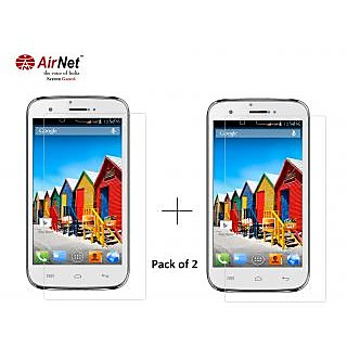 Airnet  Scratch and Dust Resistant Screen Guard for Micromax Canvas A115(3D)/92(Lite)