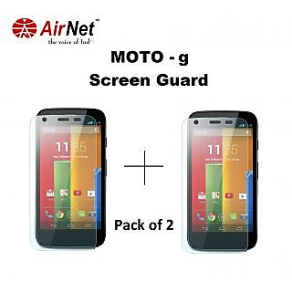 Airnet  Scratch and Dust Resistant Screen Guard for Motorola MOTO G