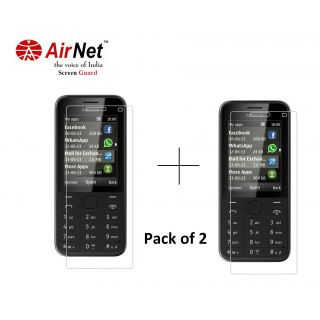 Airnet  Scratch and Dust Resistant Screen Guard for Nokia Asha 207