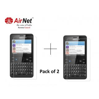 Airnet  Scratch and Dust Resistant Screen Guard for Nokia Asha 210