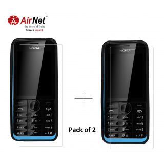Airnet  Scratch and Dust Resistant Screen Guard for Nokia Asha 301