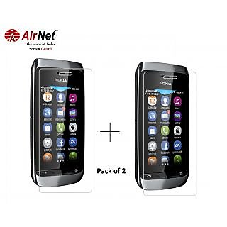 Airnet  Scratch and Dust Resistant Screen Guard for Nokia Asha 309
