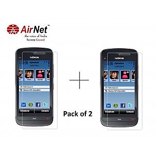 Airnet  Scratch and Dust Resistant Screen Guard for Nokia C 503