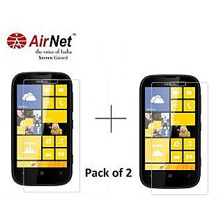 Airnet  Scratch and Dust Resistant Screen Guard for Nokia Lumia 510