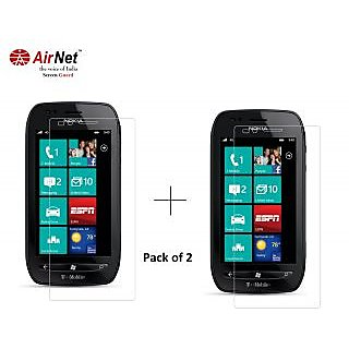 Airnet  Scratch and Dust Resistant Screen Guard for Nokia Lumia 710