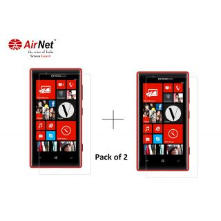 Airnet  Scratch and Dust Resistant Screen Guard for Nokia Lumia 720