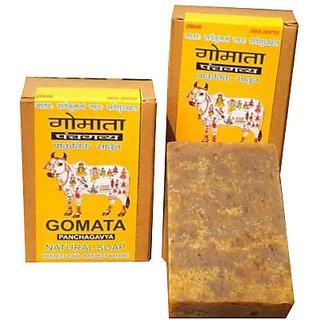 PANCHGAVYA-GOMATA NATURAL SOAP-SET OF THREE PCS.