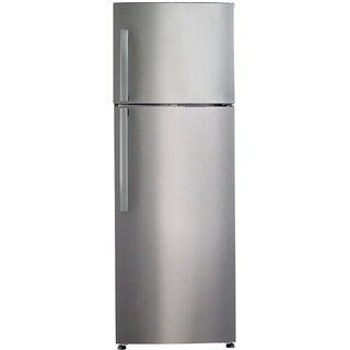 Haier Hrf-2674PSS 247 Litres Double Door Frost Free Refrigerator (Steel)