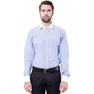 Cotton Formal Shirt Cornflower Blue Color for Men