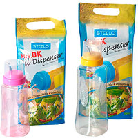 steelo 500 ml x 1, 1000 ml x Oil Dispenser Set(Pack of 2 Clear)