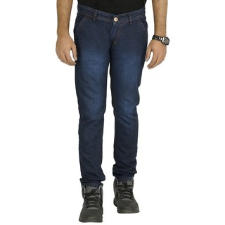Buy Urbano Fashion Blue Slim Fit Jeans For Men Online   ₹350 from ... dfd9c2f4ea8