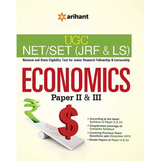 Ugc Net/Set (Jrf  Ls) - Economics Paper Ii  Iii