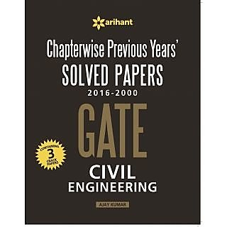 Chapterwise Gate Solved Papers (2016-2000) Civil Engineering