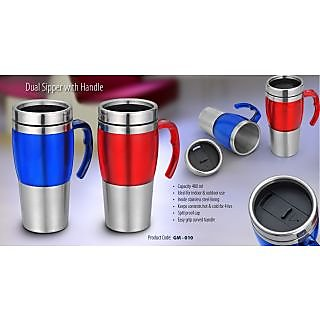 DUAL SIPPER WITH HANDLE 480ml