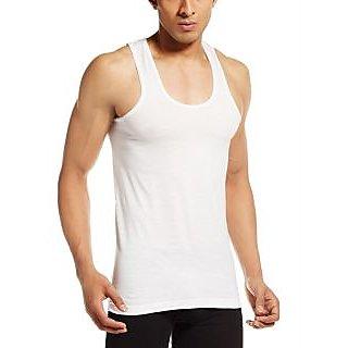 Mens Cotton Vests supreme white