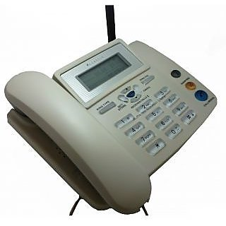 2208 Walky Phone Cdma Fixed Wireless Landline Phone FROM MZC WHITE IN COLOUR