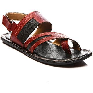 Juan David Mens Tan Casual Slip on Sandals