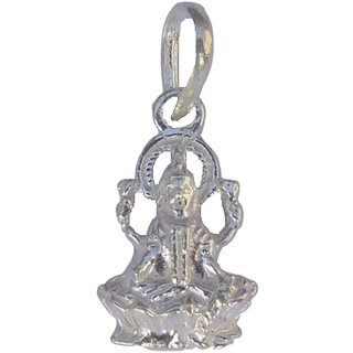 Ankit Collection Sterling Silver Maha Laxmi Pendant