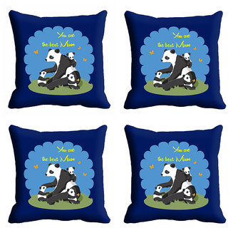 meSleep U Are The Best Mum Mothers Day Cushion Cover (16x16)